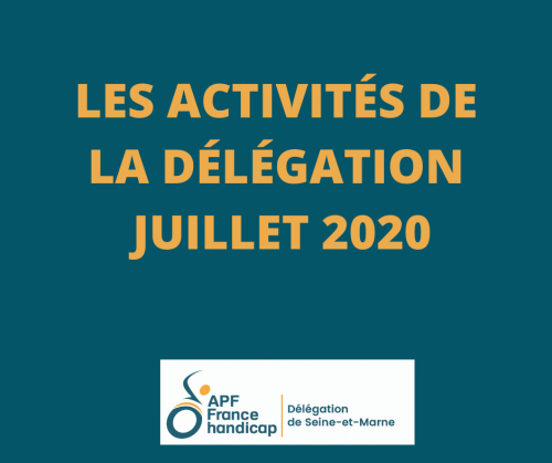 Les activités de la délégation Du 1er juillet au 15 juillet 2020.png